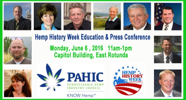 PAHIC Hosts Hemp History Week Event at State Capitol