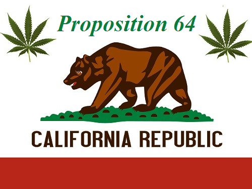 California's Cannabis Legalization Initiative to be on November Ballot as Proposition 64