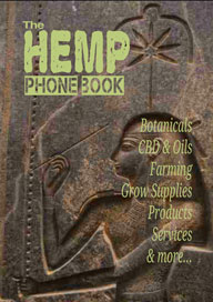 2016 Hemp Phone Book Released
