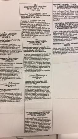 Medical Cannabis Initiative Missing from Voter's Ballot in Broward County, Florida