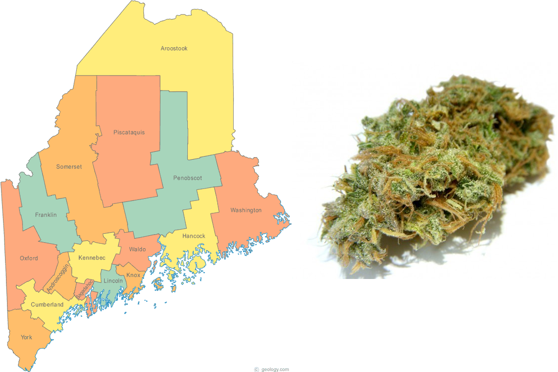 Maine Legalization Initiative Survives Recount, to Take Effect January 15th