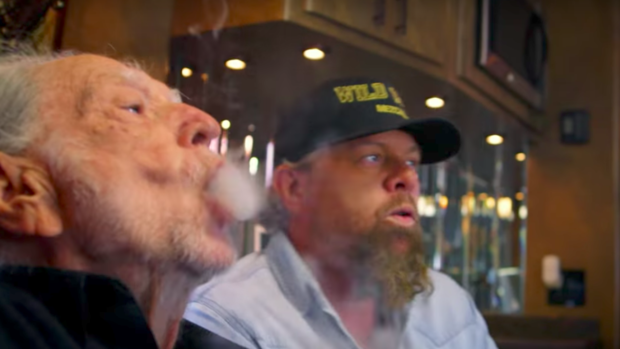 Willie Nelson Lights Up Toby Keith's New Marijuana Ditty 'Wacky Tobaccy'