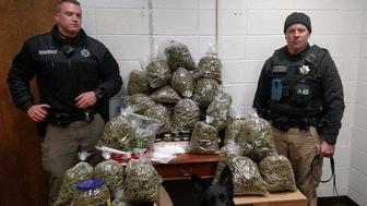 Older Couple Caught With 60 Pounds Of Pot Said It Was For Holiday Gifts: Police