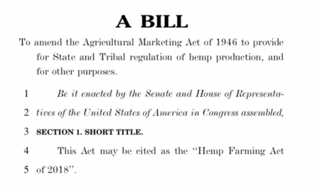 The End of Industrial Hemp Prohibition: Almost There!