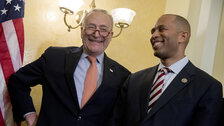 Chuck Schumer And Hakeem Jeffries Team Up On Bill To Federally Decriminalize Marijuana