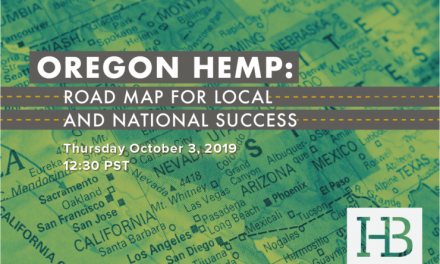 Oregon Hemp: Free Webinar October 3!