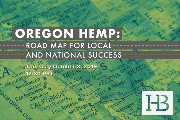 Oregon Hemp Webinar: Join Us Today at 12:30 PST!